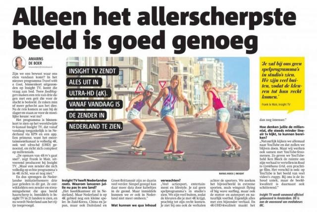 Metro Nieuws, Netherlands