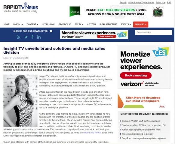 Rapid TV News