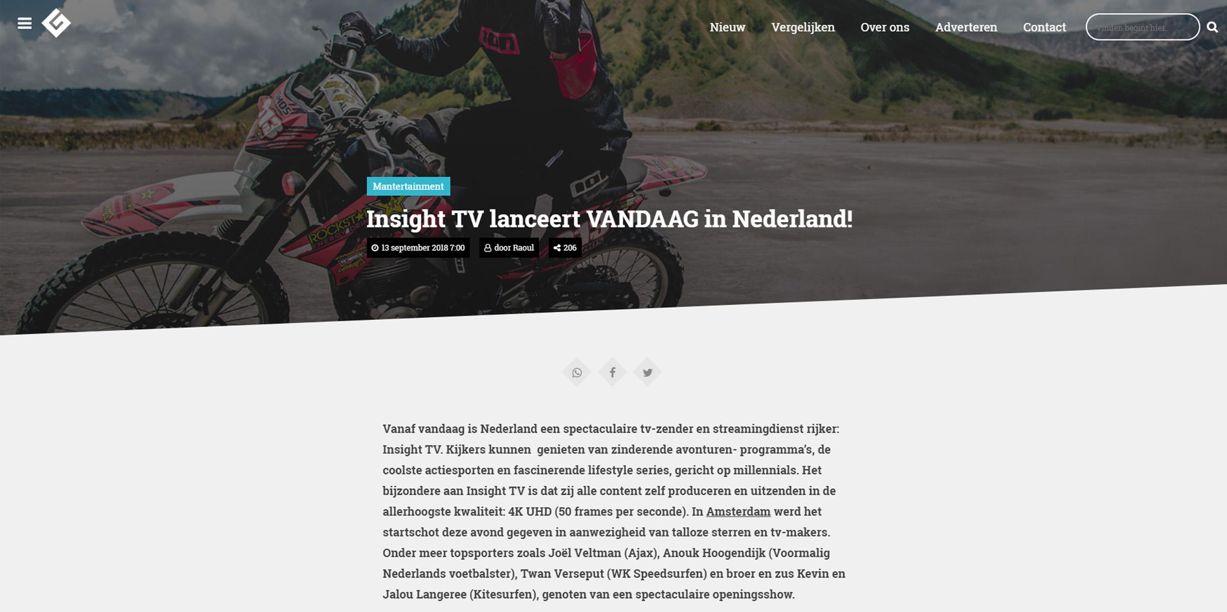 Mannenblog, Netherlands